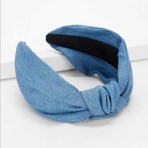 🔲New Knot plain Headband 🔲